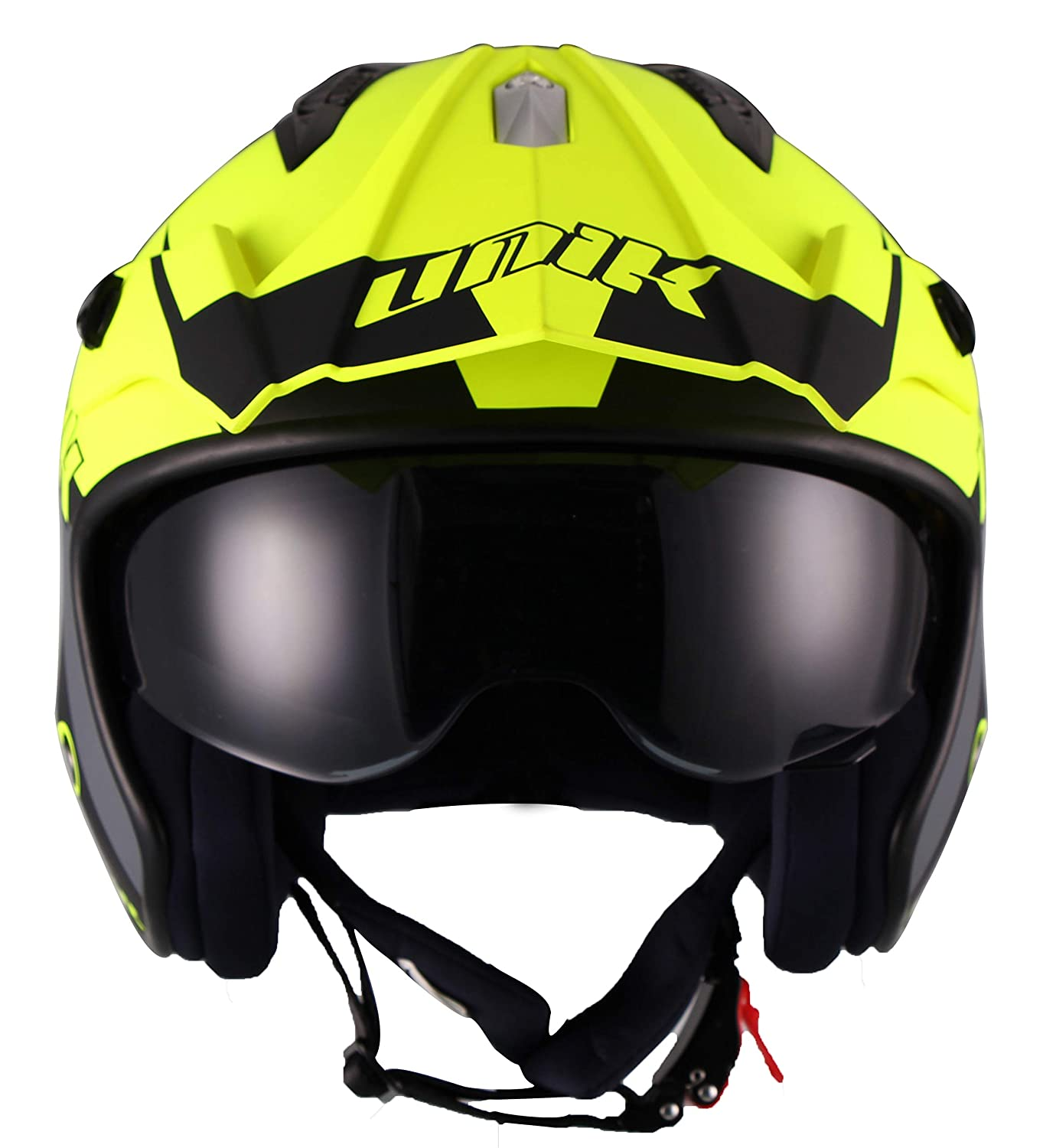 Amazon.es: Unik - Casco Jet TRIAL abierto CT-07 R-GRAFF ...