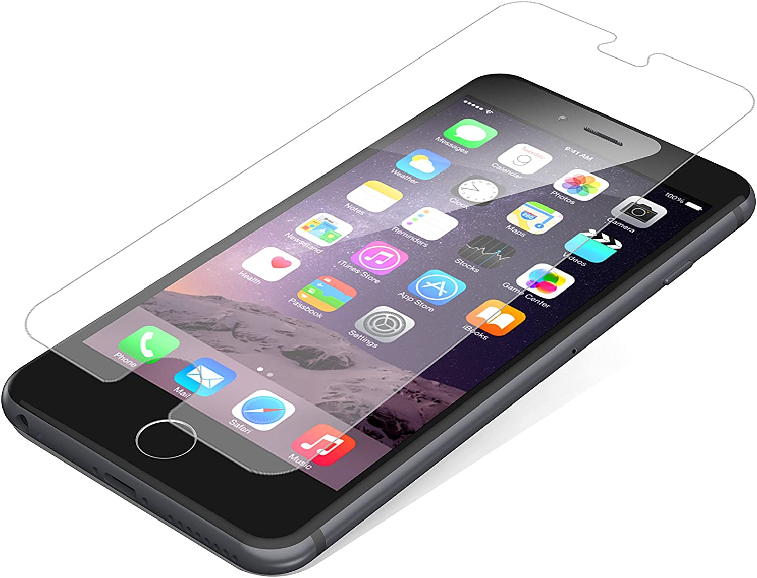 ZAGG InvisibleShield Case Friendly Glass Screen Protector for Apple iPhone 6 Plus/ iPhone 6S Plus