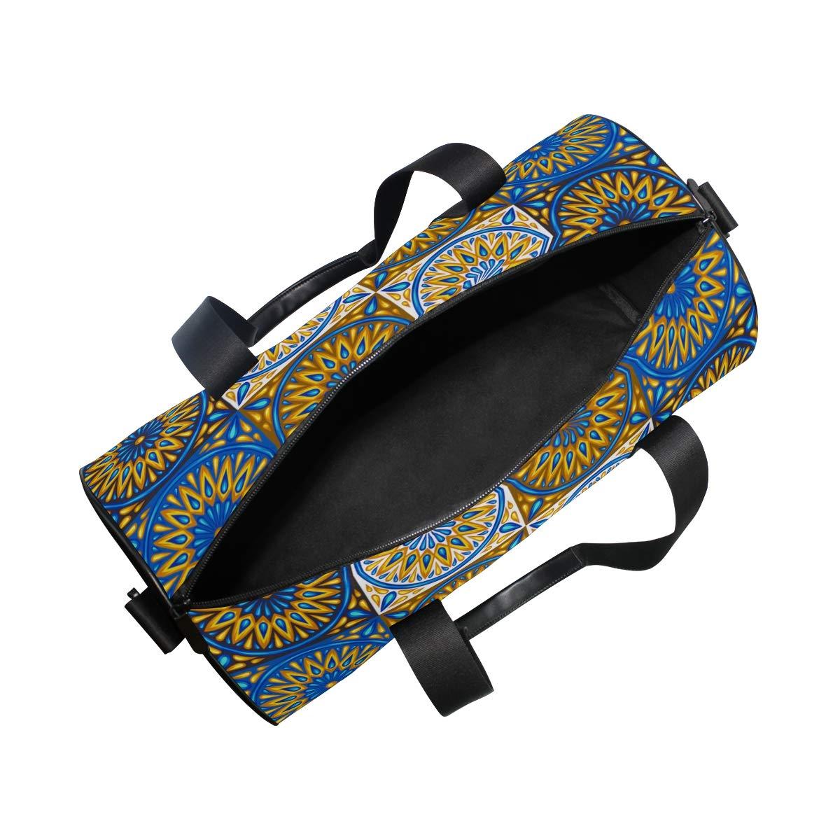 Sun Vintage Ceramic PictureWaterproof Non-Slip Wearable Crossbody Bag fitness bag Shoulder Bag