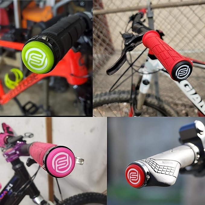 FIFTY-FIFTY 4 St/ück Mountainbike Lenker Endstopfen Fahrrad Endkappen Bar End Plug f/ür MTB