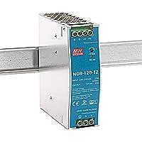 DIN-rail voeding 120W 12V 10A; MeanWell NDR-120-12; DIN-rail transformator