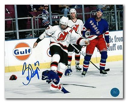 add1bafd8 Scott Niedermayer New Jersey Devils Autographed Post Fight vs Rangers 8x10  Photo