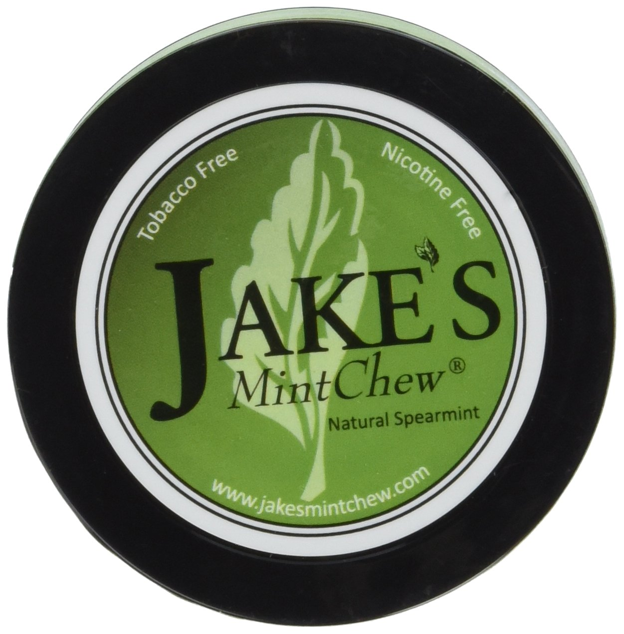 Jake's Mint Chew - Spearmint - 5 pack - Tobacco & Nicotine Free!