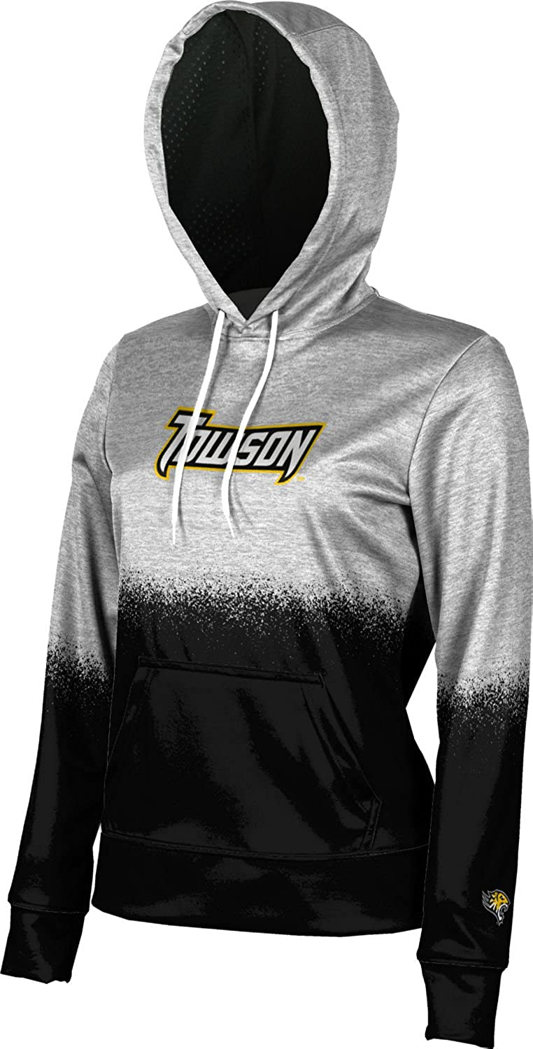 School Spirit Sweatshirt Spray Over ProSphere Towson University Girls Pullover Hoodie
