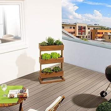 Hecht International hecht international vertical raised bed cube3 amazon co uk garden