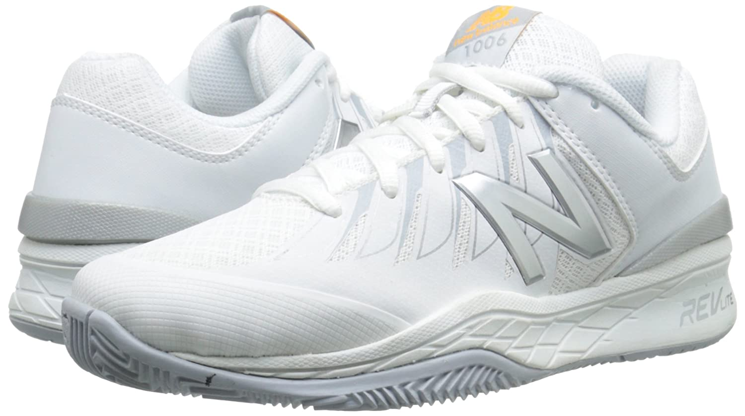 newest 39152 098ec Amazon.com   New Balance Women s WC1006v1 Tennis Shoe   Tennis   Racquet  Sports