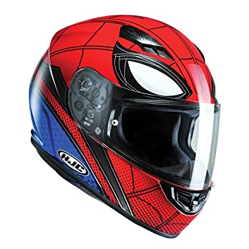 Casco integral para motocicleta HJC CS-15 de Spiderman Homecoming de Marvel MC1