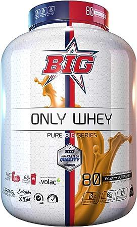 Big ONLY WHEY concentrado proteína Caramel Macchiato 2Kg ...