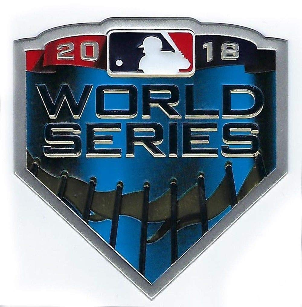 Official Licensed 2018 MLB World Series Baseball Jersey Patch