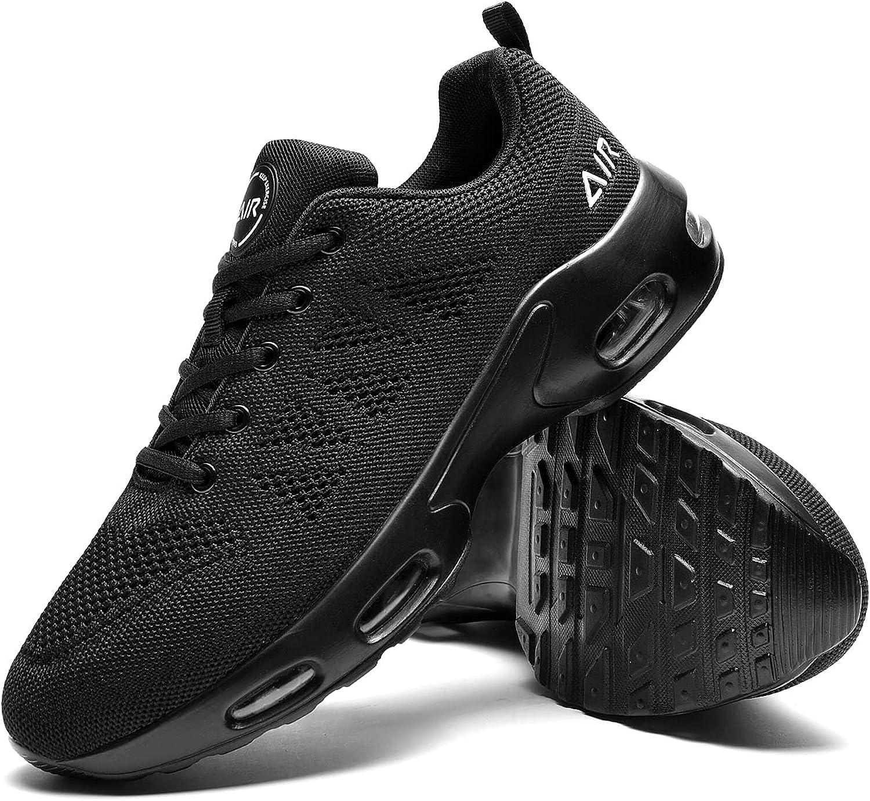 Quseek Men's Air High material Running Shoes Athletic Walking Financial sales sale Tennis Sneakers