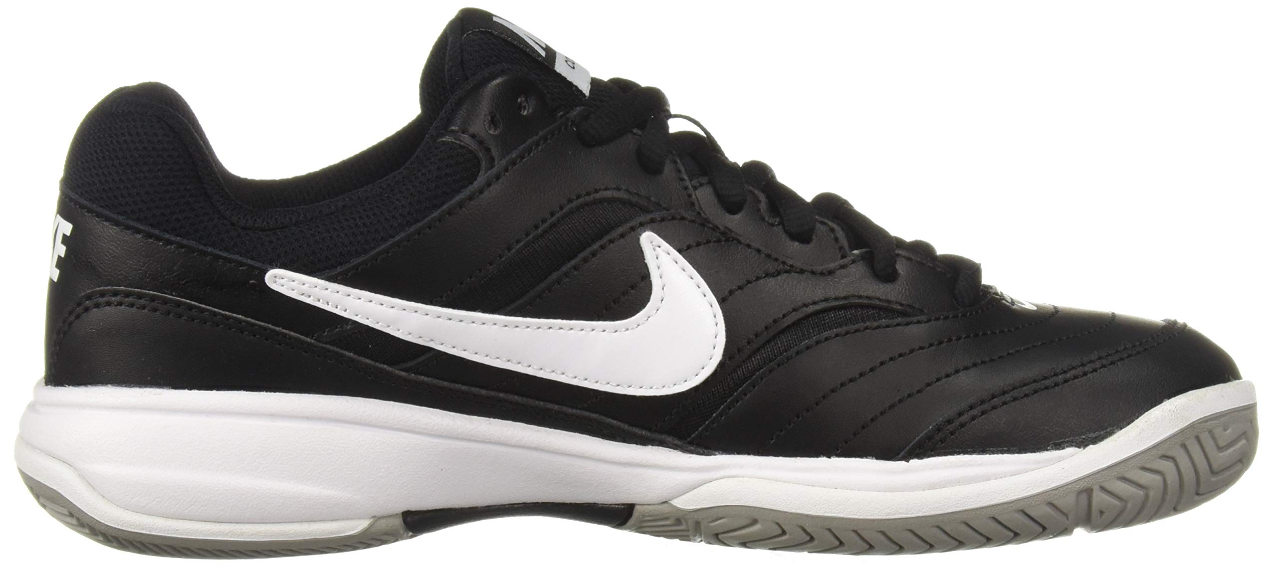 NIKE Men's Court Lite Athletic Shoe, Black/White/Medium Grey, 7.5 Regular US by Nike (Image #7)