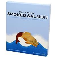 Pacific Alaska Smoked Wild Salmon, 3-Ounce Box