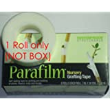 """Parafilm® Grafting Tape (Genuine by Parafilm®) 90' Roll Clear (1"""" - One Inch)"""