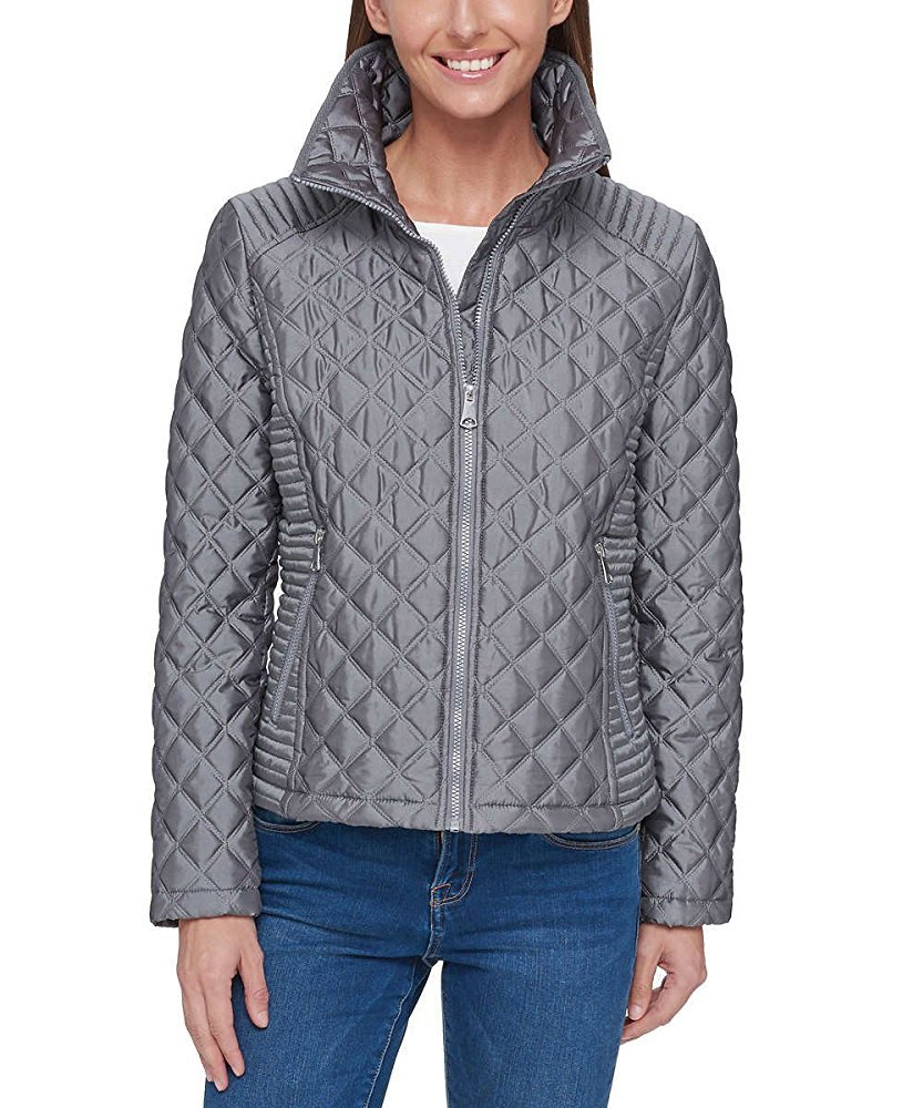 Marc New York Ladies' Quilted Jacket (Gray, XX-Large)