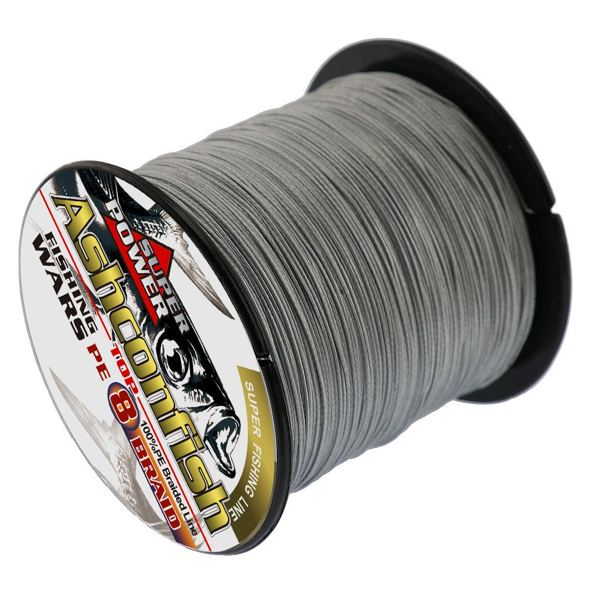 Ashconfish Braided Fishing Line-8 Strands Super Strong Fishing Wire 1000M//1093Yards-Abrasion Resistant Braided Lines-Incredible Superline-Zero Stretch-Superfine Diameter