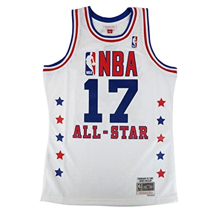 8522229da Mitchell   Ness Chris Mullin 1989 NBA All Star West Swingman White Jersey  Men s
