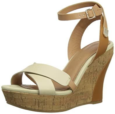 ad1c223168337a Tommy Hilfiger Womens Irene 1A Fashion Sandals FW56816785  Ochre Wheat Woodash 6 UK