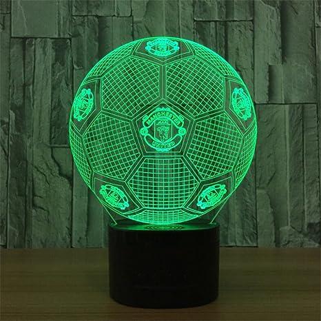 Amazon.com: LT & nt baloncesto 3d ilusión óptica Visual luz ...