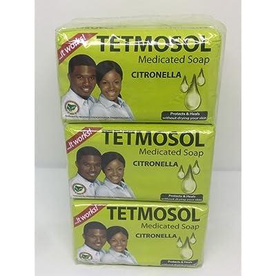 3 Pack Tetmosol Medicated Soap