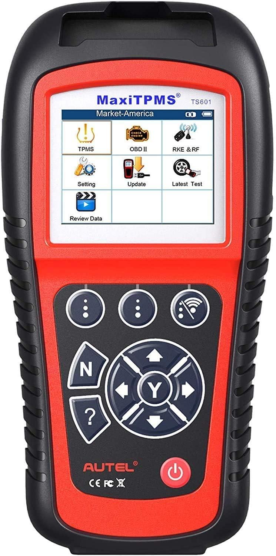 Autel Ts601 Diagnosegerät Für Rdks Kontrolle Diagnose Sensorprogrammierung Vollständige Obdii Funktionen Druckdaten Lebenslange Aktualisierungen Auto