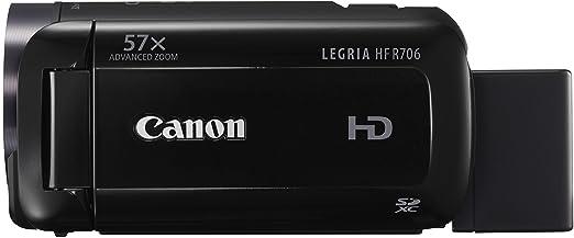 21 opinioni per Canon Legria HF R706 Videocamera Digitale Full HD, Zoom 57x, Nero/Antracite