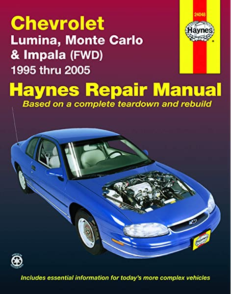 [SCHEMATICS_4UK]  Chevrolet Lumina, Monte Carlo & Impala FWD (95-05) Haynes Repair Manual  (Does not include information specific to rear-wheel drive Impala models or  supercharged models.): Kibler, Jeff, Freund, Ken: 0038345240485:  Amazon.com: Books | 2000 Chevy Lumina Heater Wiring Diagram |  | Amazon.com