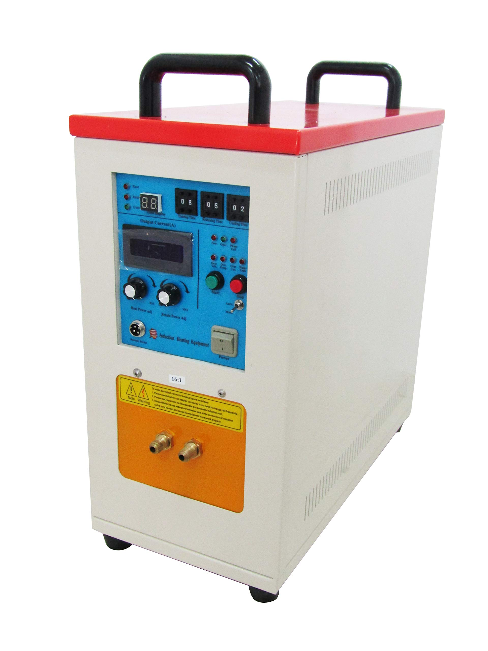 MXBAOHENG New 15KW 30-80 KHz High Frequency Induction Furnace Gold Silver Copper Steel Induction Heater LH-15A (220V) by MXBAOHENG