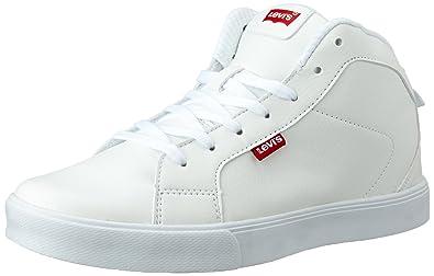 f76ee1457 Levi s Men s Franklin Sneakers Franklin White Sneakers - 10 UK India (44 EU)