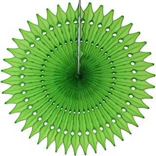 product image for 3-Pack 21 Inch Large Tissue Paper Fan (Lime)