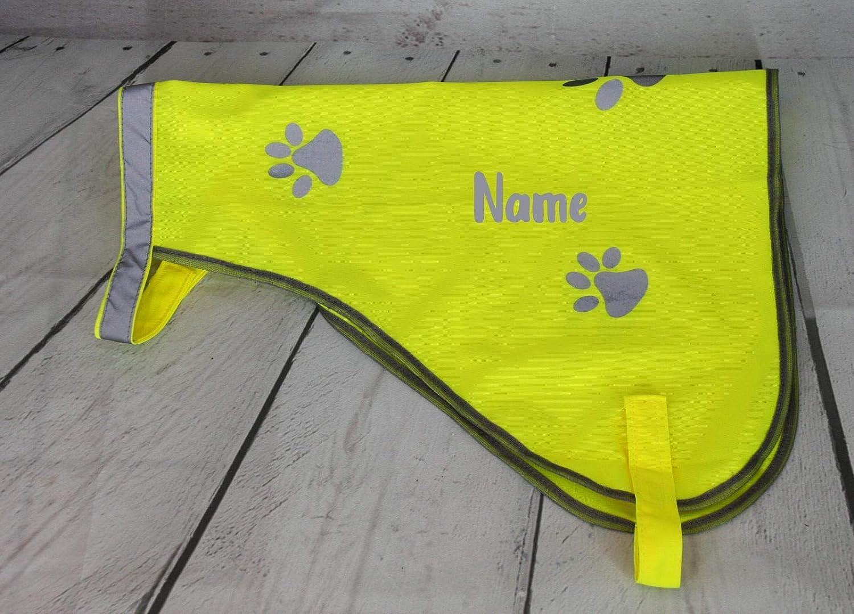 Hundeweste mit Reflektoren Gr. M (40cm) personalisierbar