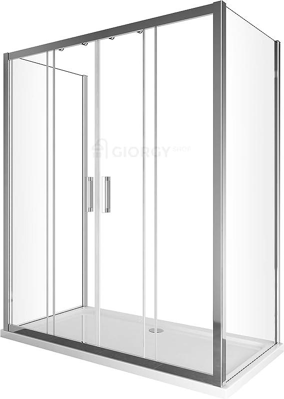 Cambio bañera Box ducha 3 lados con puerta corredera 4 puertas ...
