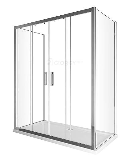 Box Doccia 4 Ante.Cambio Vasca Box Doccia 3 Lati Porta Scorrevole 4 Ante Centrale 2