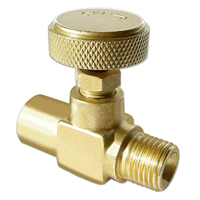 Hot Max 24209 Brass Replacement Needle Valve - Brazing Torches - .com
