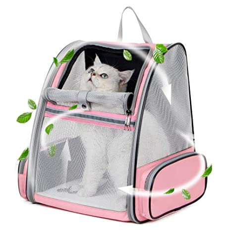 44edda62915 Amazon.com : Texsens Innovative Traveler Bubble Backpack Pet Carriers for  Cats and Dogs : Pet Supplies