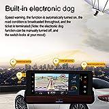 MKChung 6.86 Inch Car WiFi Bluetooth DVR Camera GPS Navigator Driving Recorder