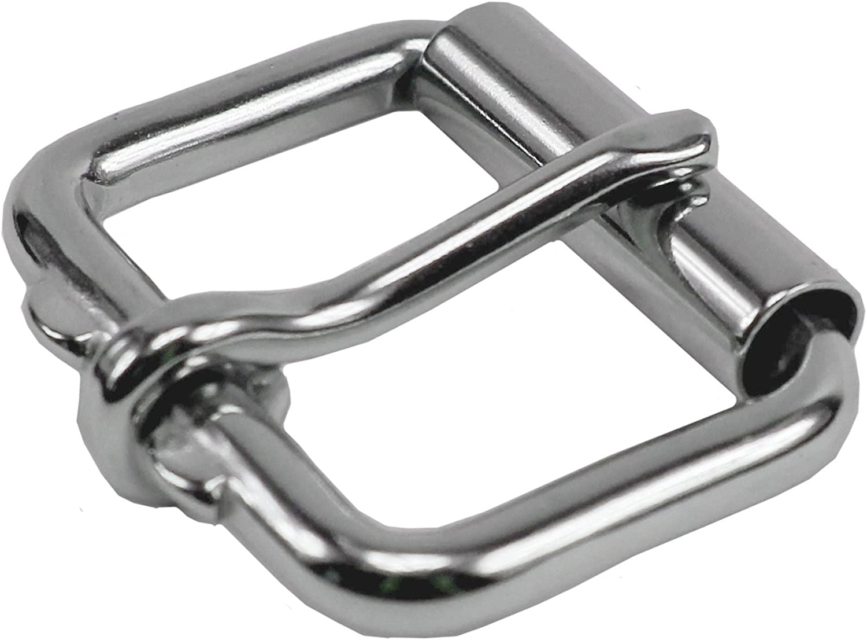 Belt Buckle Elegant Stainless-Steel Nickel Free 100-Year Warranty