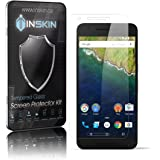 [2-Pack] Nexus 6P Screen Protector - Inskin HD Tempered Glass Screen Protector for Huawei® Google® Nexus 6P. Polished edges. Oleophobic coating. 9H Hardness. Inskin Retail Packaging.