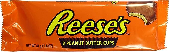 13 opinioni per Hershey's Reese's 3 peanut butter cup dolcetto al Burro di Arachidi 51g hersheys