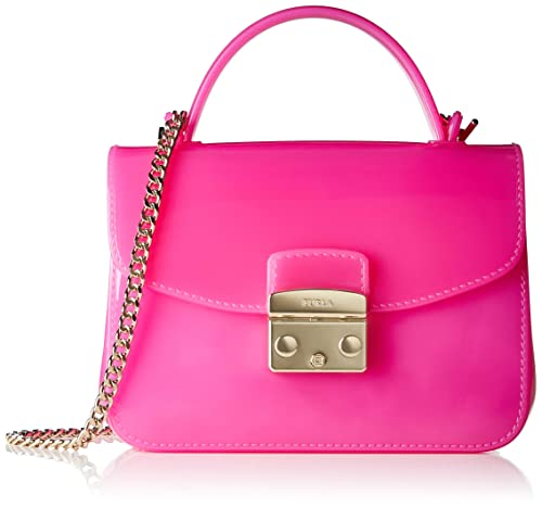 Furla Candy Meringa Mini Crossbody, Women's Cross-Body Bag, Pink (Fuchsia D