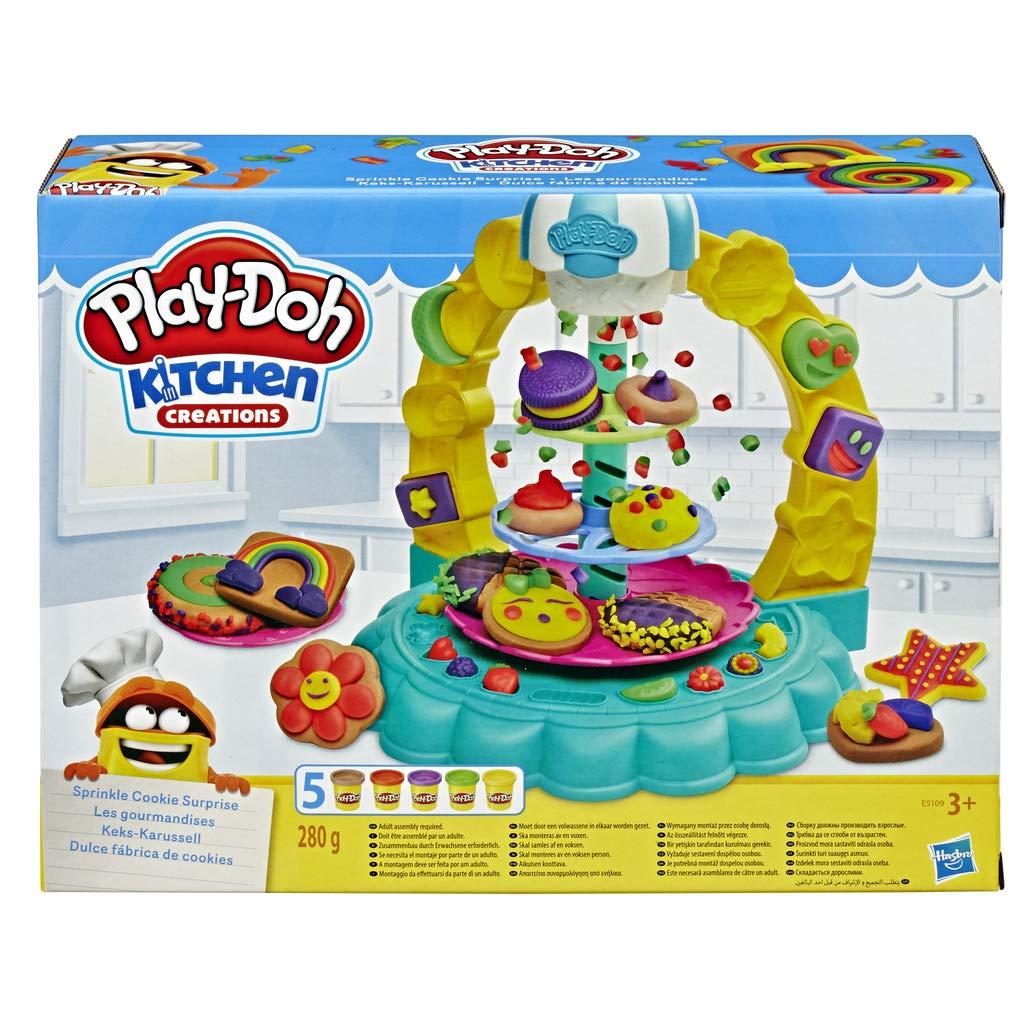 Play-Doh- Dulce Fábrica de Cookies (Hasbro E5109EU4): Amazon.es ...