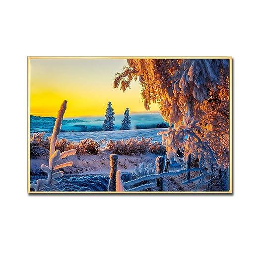 tzxdbh Pintura de la Lona Cartel de la Playa Sala de Estar ...