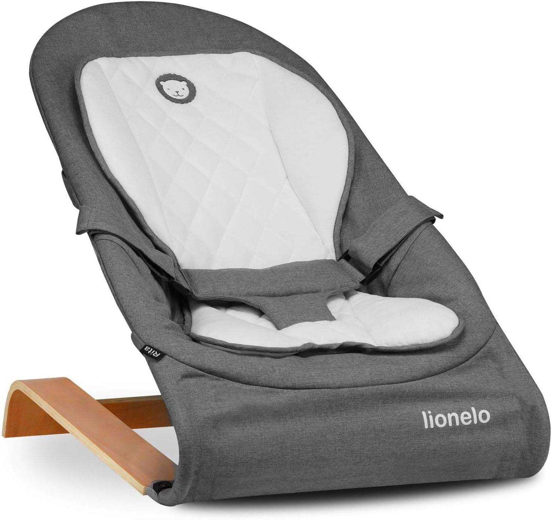 Lionelo Rita de 0 a 9 kg, plegable, certificado europeo EN 12790 Balanc/ín para beb/é