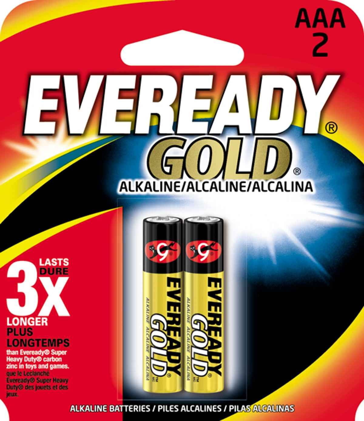 ENERGIZER AAA2 EVEREADY AAA Alkaline Battery