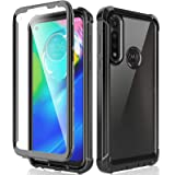 HATOSHI Motorola Moto G Power Case 2020 with Built in Screen Protector, [NOT] for Moto G8 Power, Military Grade Heavy Duty Pr