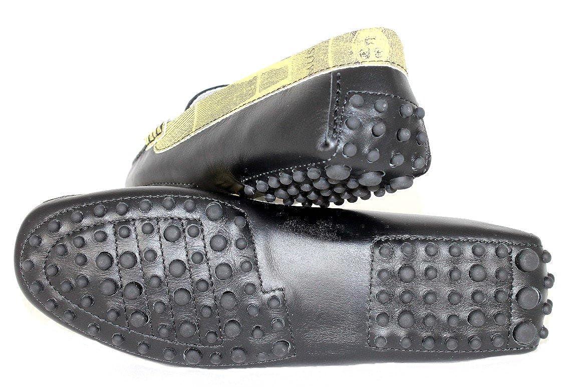 Gattinoni Damen Schuhe Schuhe Mokassins 203 Leder Gr.36-41 203 Mokassins Schwarz - 4a0599