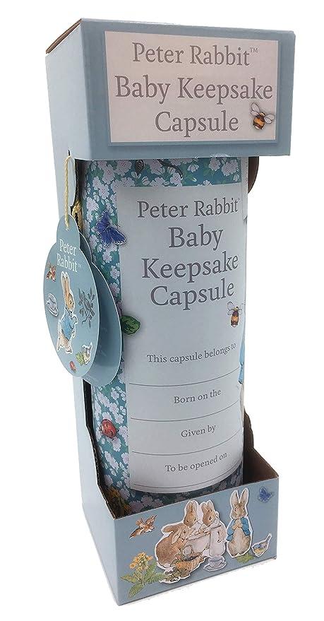 Beatrix Potters Peter Rabbit - Cápsula de recuerdo para bebé ...
