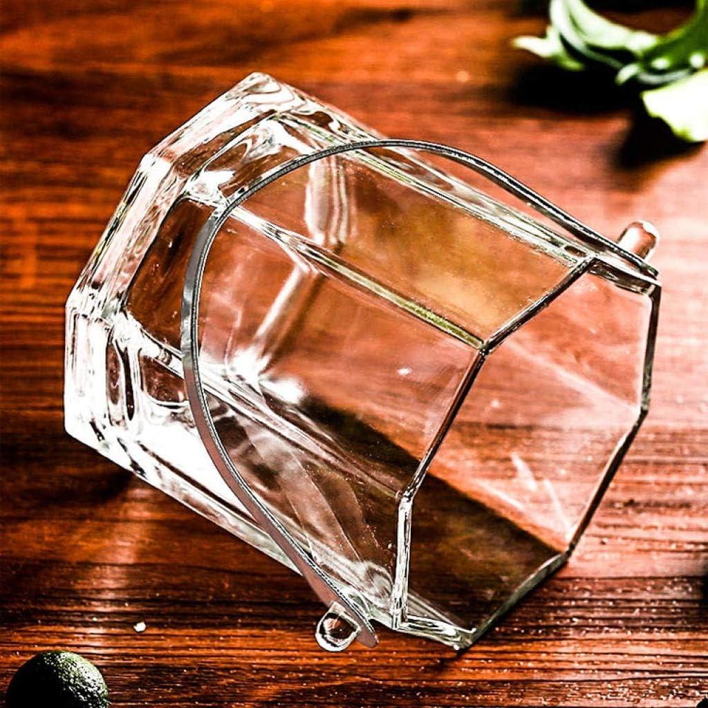 Cristal Cubo de Hielo XXDTG Hielo Transparente Cubo Cubo de Hielo Vino Tinto Cubo de Hielo Hielo Champagne Cerveza refrigerador Portable