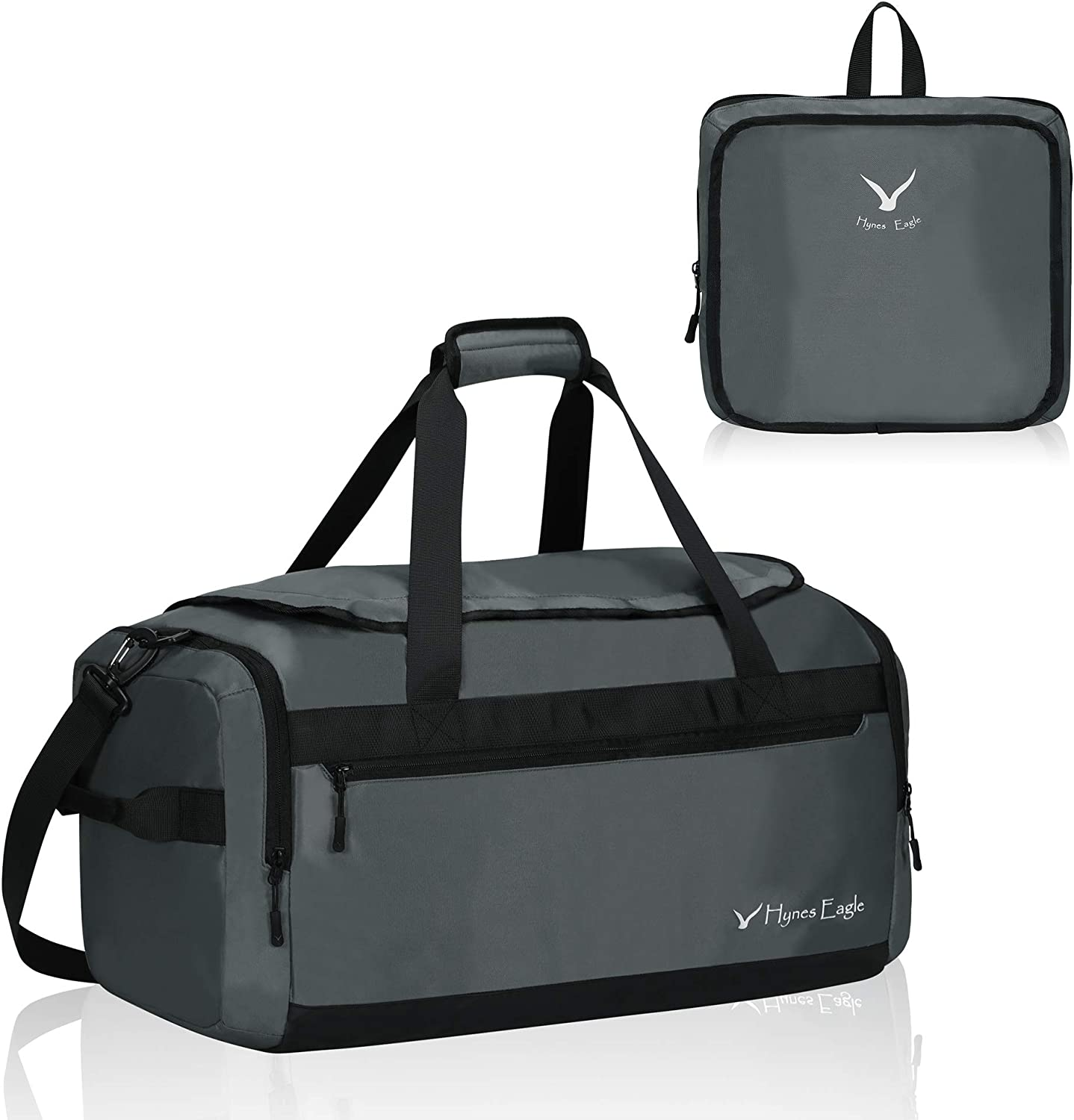 Eagle Sports Gym Bag with Shoes Compartment Travel Duffel Bag for Men and Women