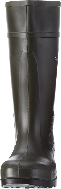 nero S5-44 C462933 Stivali da lavoro Dunlop Purofort professionale completa sicurezza verde scuro