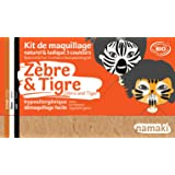 Kit maquillage 3 couleurs zèbre et tigre BIO Namaki Cosmetics